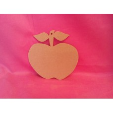 4mm Thick MDF Apple  90mm in size Pack of 5